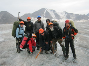Кавказ 2012. Льодовик Джикаагюнкез